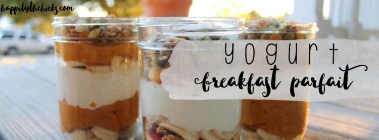 Breakfast Yogurt Parfaits | read more at happilythehicks.com