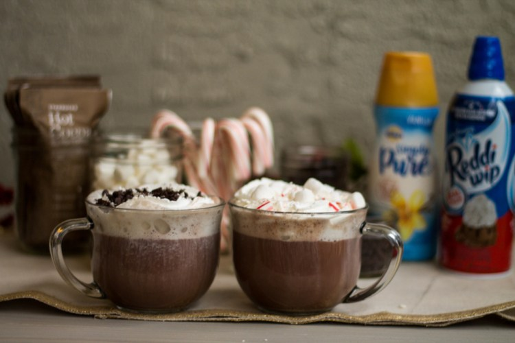 Hot Chocolate Bar DIY | read more at happilythehicks.com