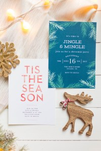 Make your holidays a little easier with Basic Invite! Beautiful Christmas cards and holiday invitations for all people.   read more at happilythehicks.com #ad #basicinvite