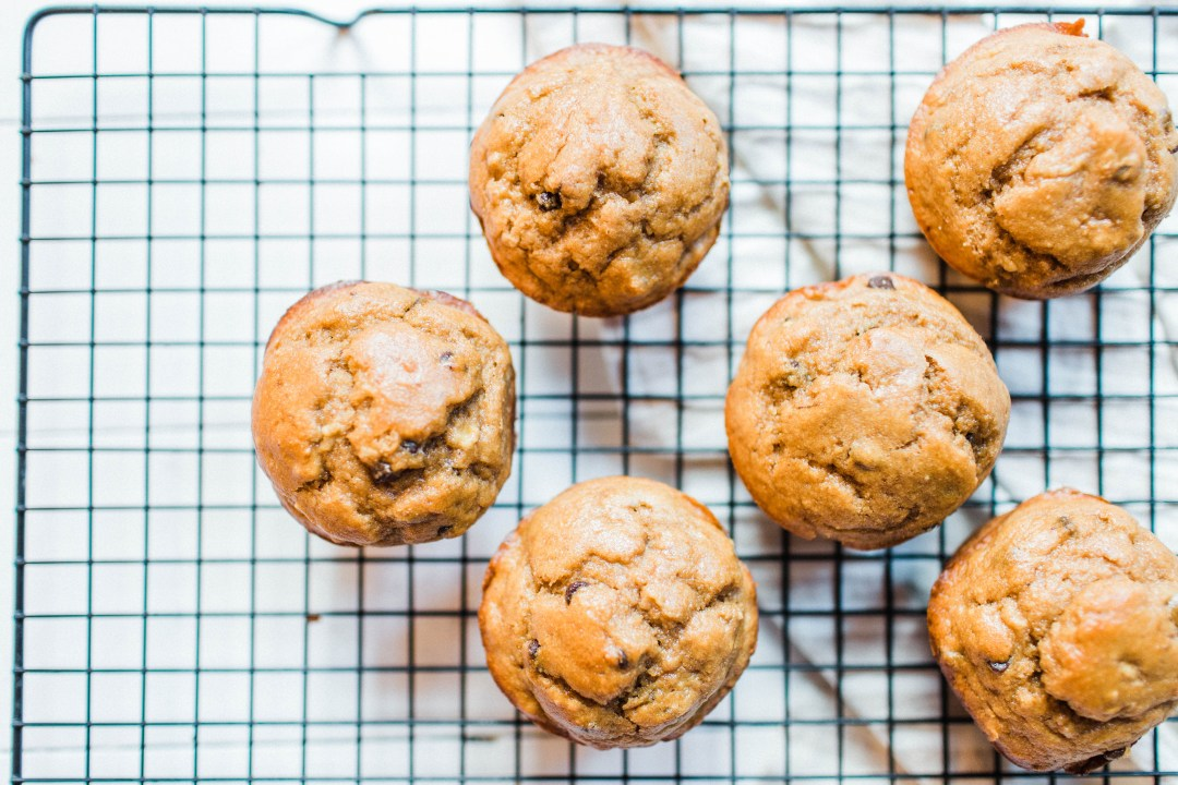 Peanut Butter Banana Kodiak Cake Muffins