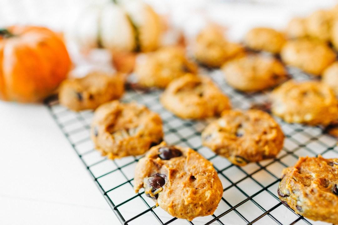 Chocolate Chip Pumpkin Spice Cookies
