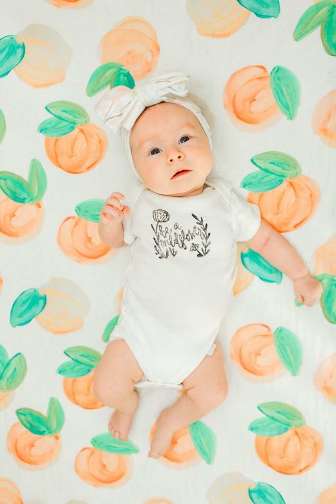June Elizabeth | Month Two Update | read more at happilythehicks.com