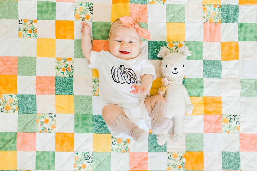June Elizabeth | Month Three Update | read more at happilythehicks.com