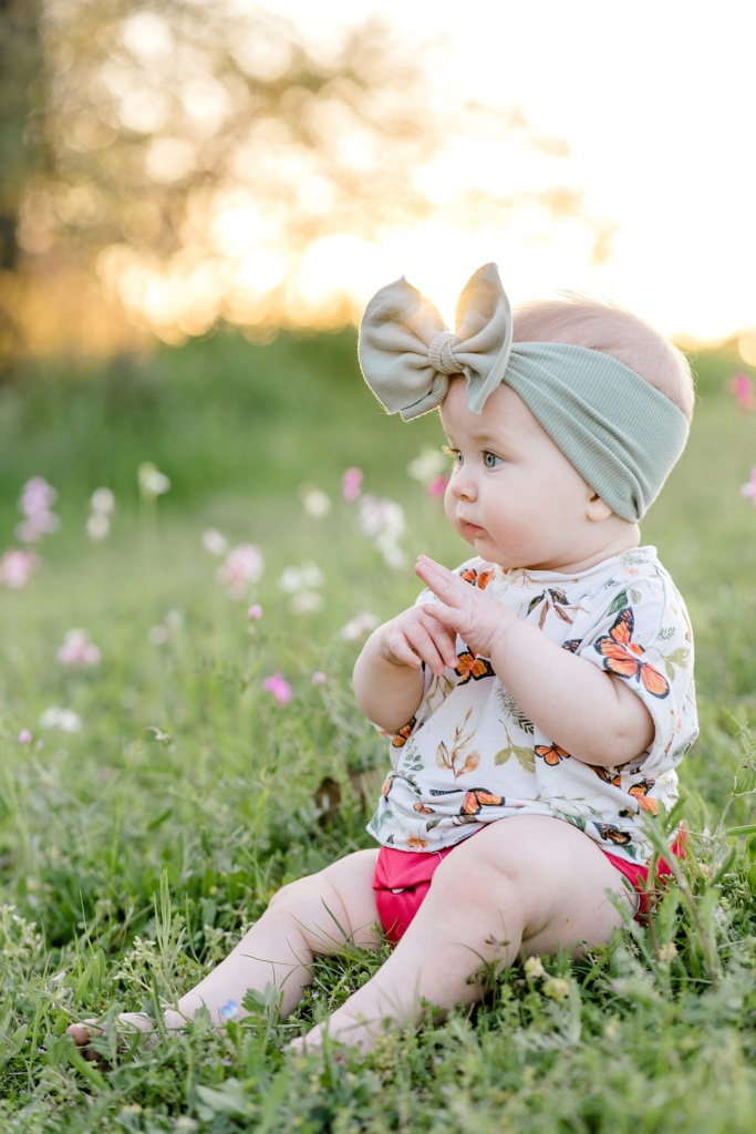 June Elizabeth | Nine Month Update | read more at happilythehicks.com