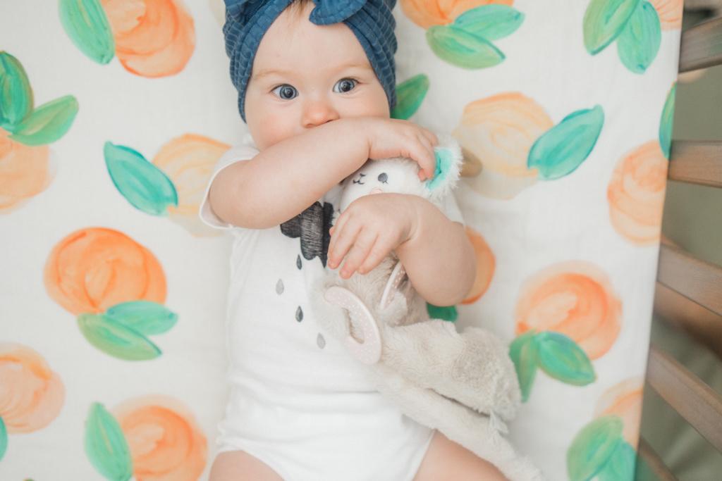 June Elizabeth | Ten Month Update | read more at happilythehicks.com