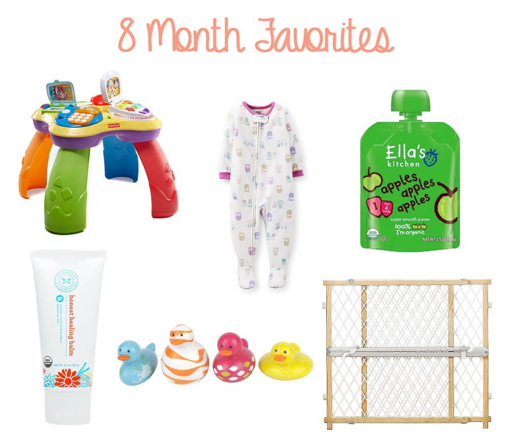 8 Mo Must Haves