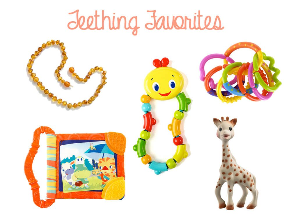Teething Baby Favorites