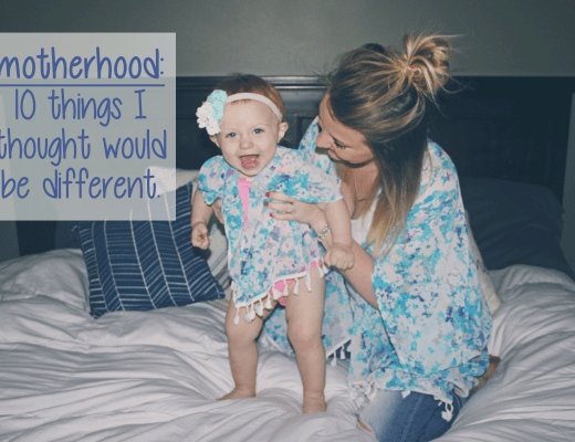 things i thought would be different about motherhood