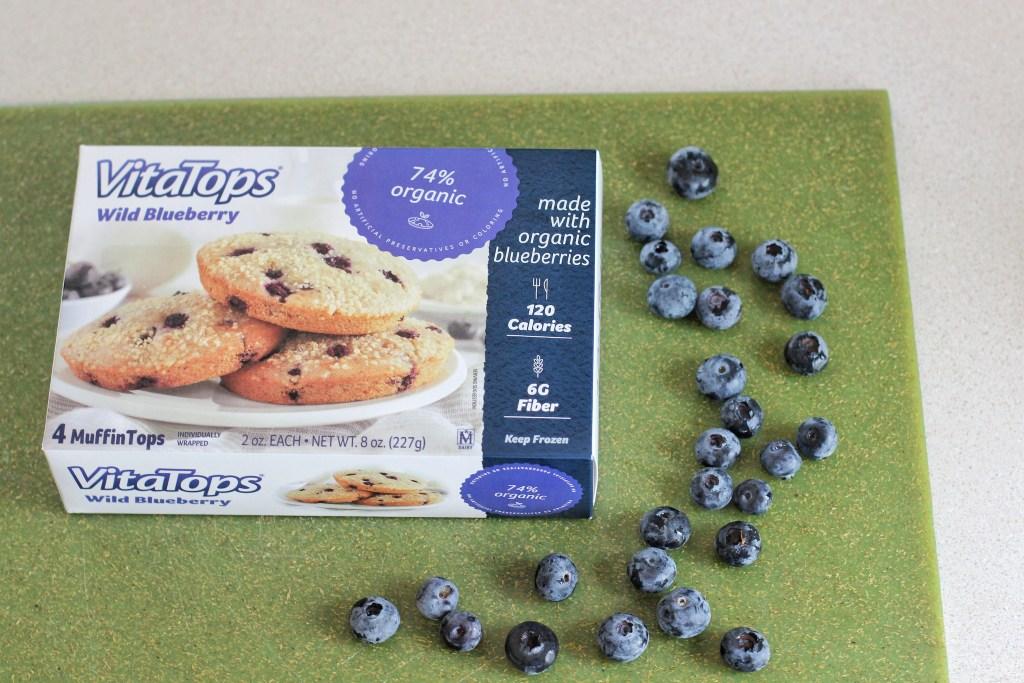 VitaTops Wild Blueberry Muffin Tops