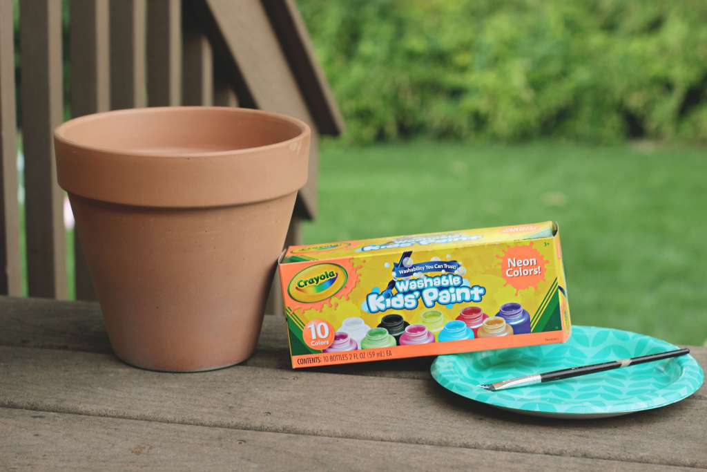 Planter Painting Supplies