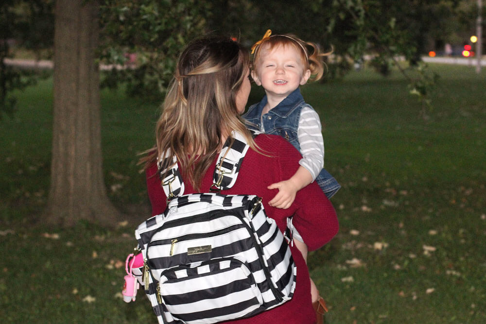 JuJuBe BFF Diaper Bag from The Baby Cubby