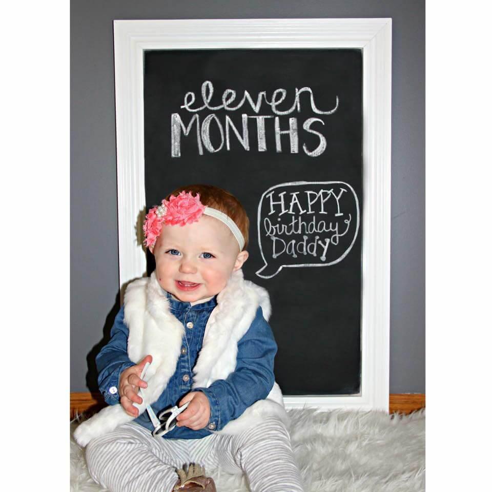 Happy Birthday Daddy Chalkboard