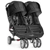 Baby Jogger® City Mini® Double Stroller in Black/Grey