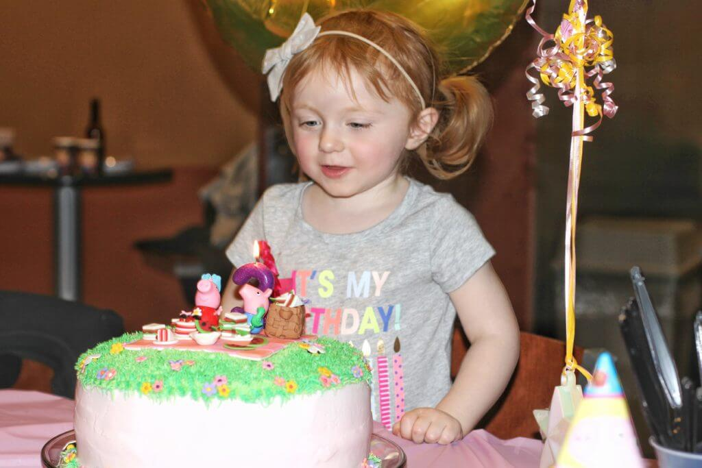 Blaire's Third Birthday