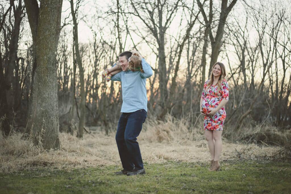 Family Maternity Photo