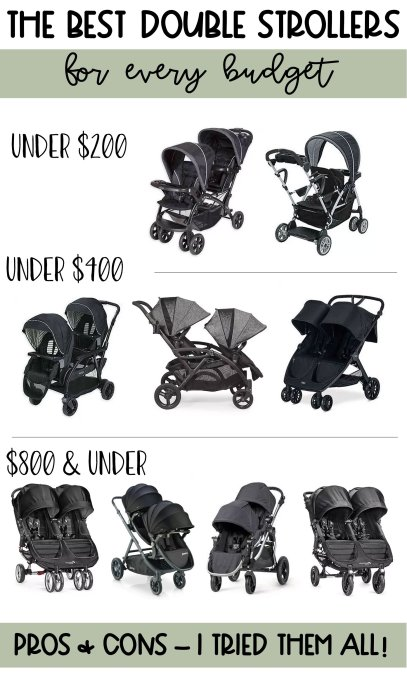the best double strollers 2019