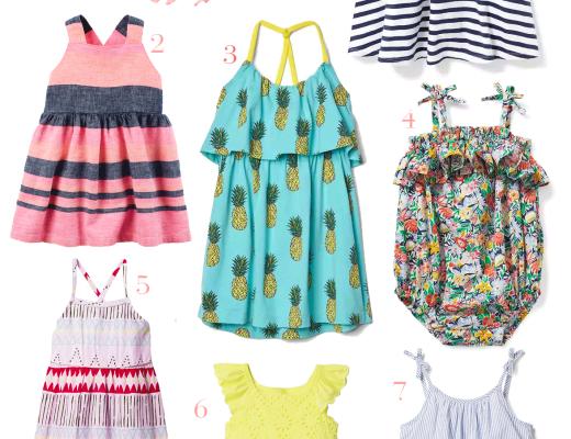 Mini Style: Spring Dresses