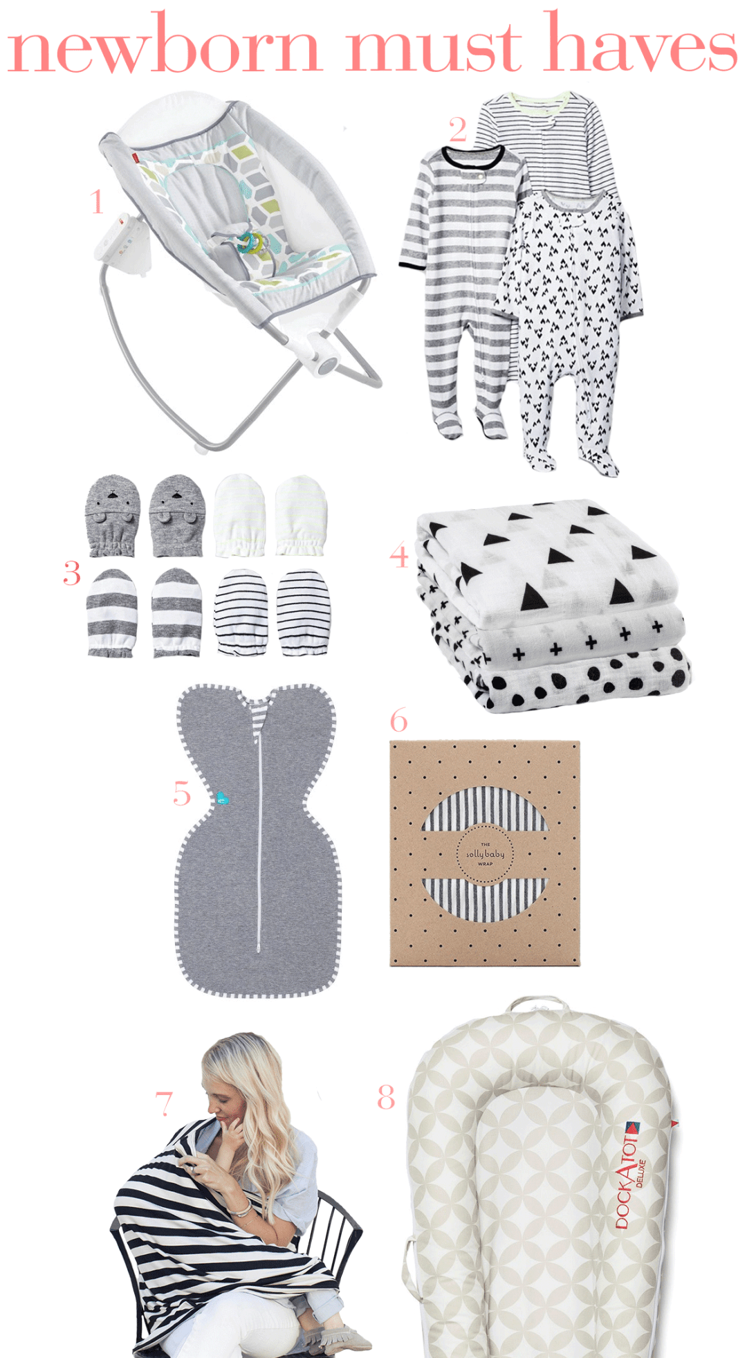 Newborn Must Haves from a Second Time Mom