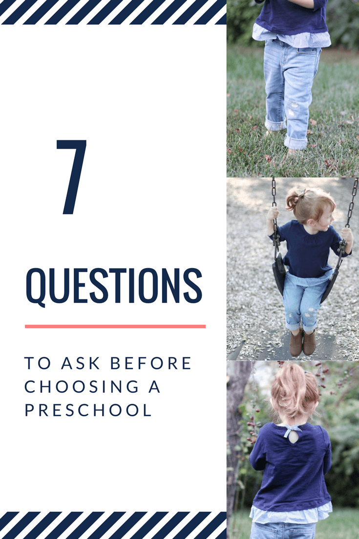7 questions to ask before choosing a preschool