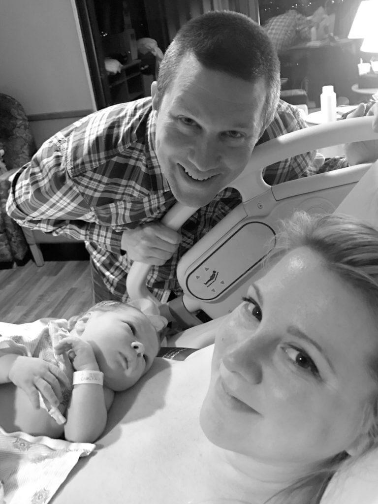 Newborn Ben and Family