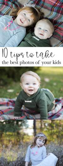 10 tips to take the best photos of your kids