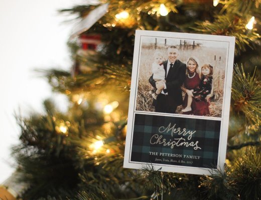 Tiny Prints Christmas Card