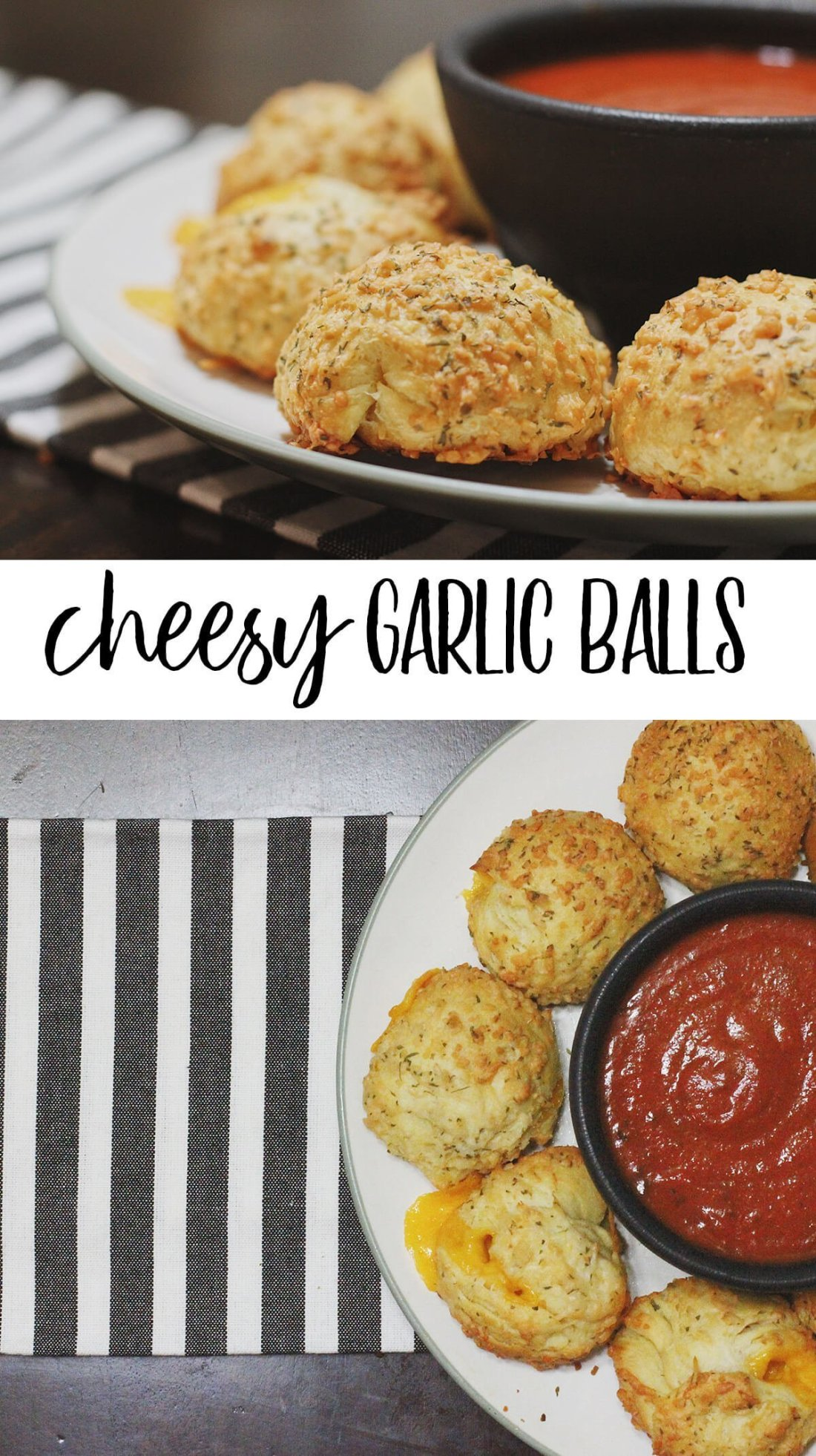 Cheesy Garlic Balls