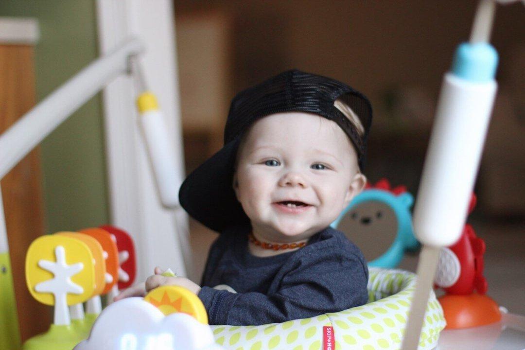 Ben, 9 months old