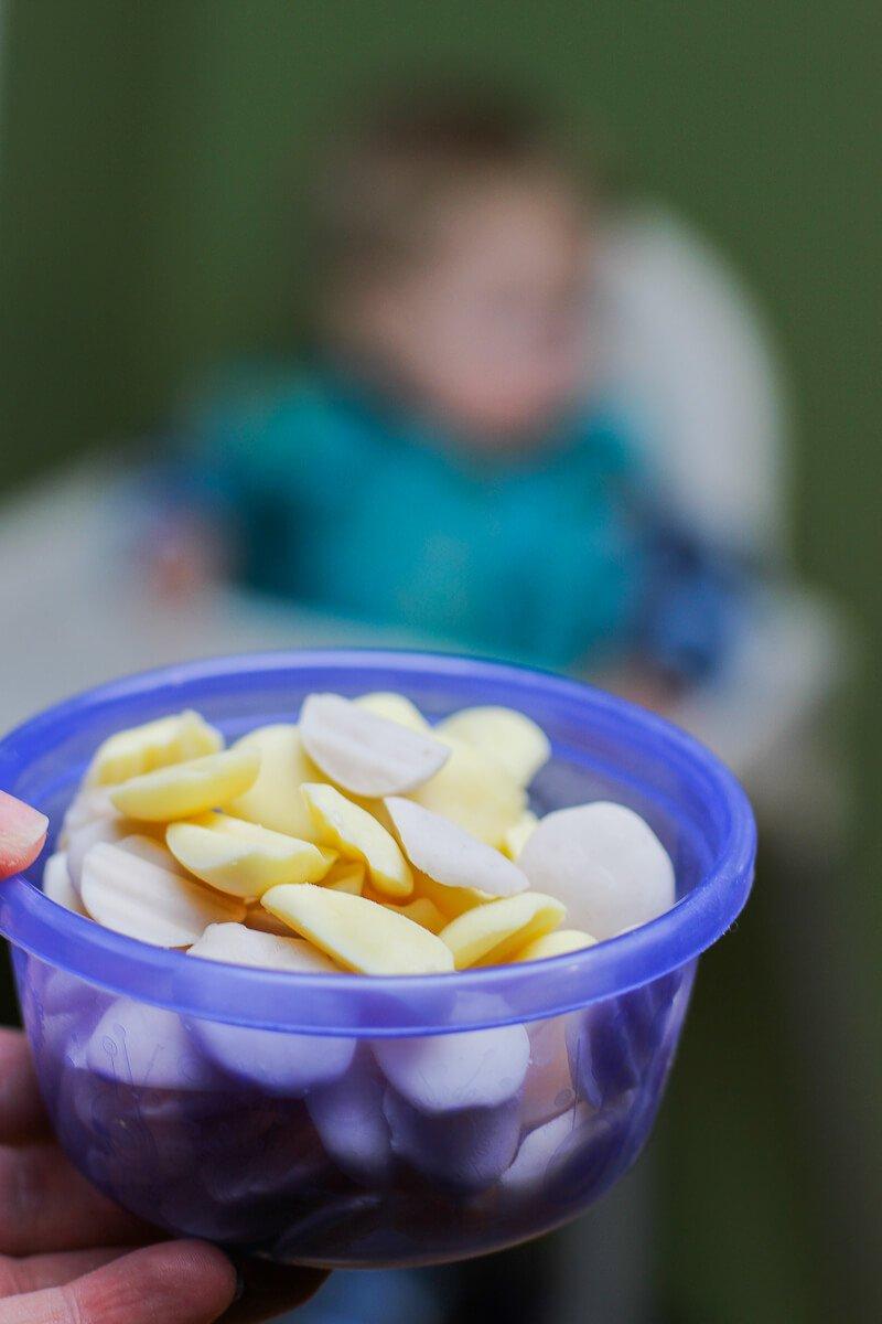 DIY Baby Yogurt Melts