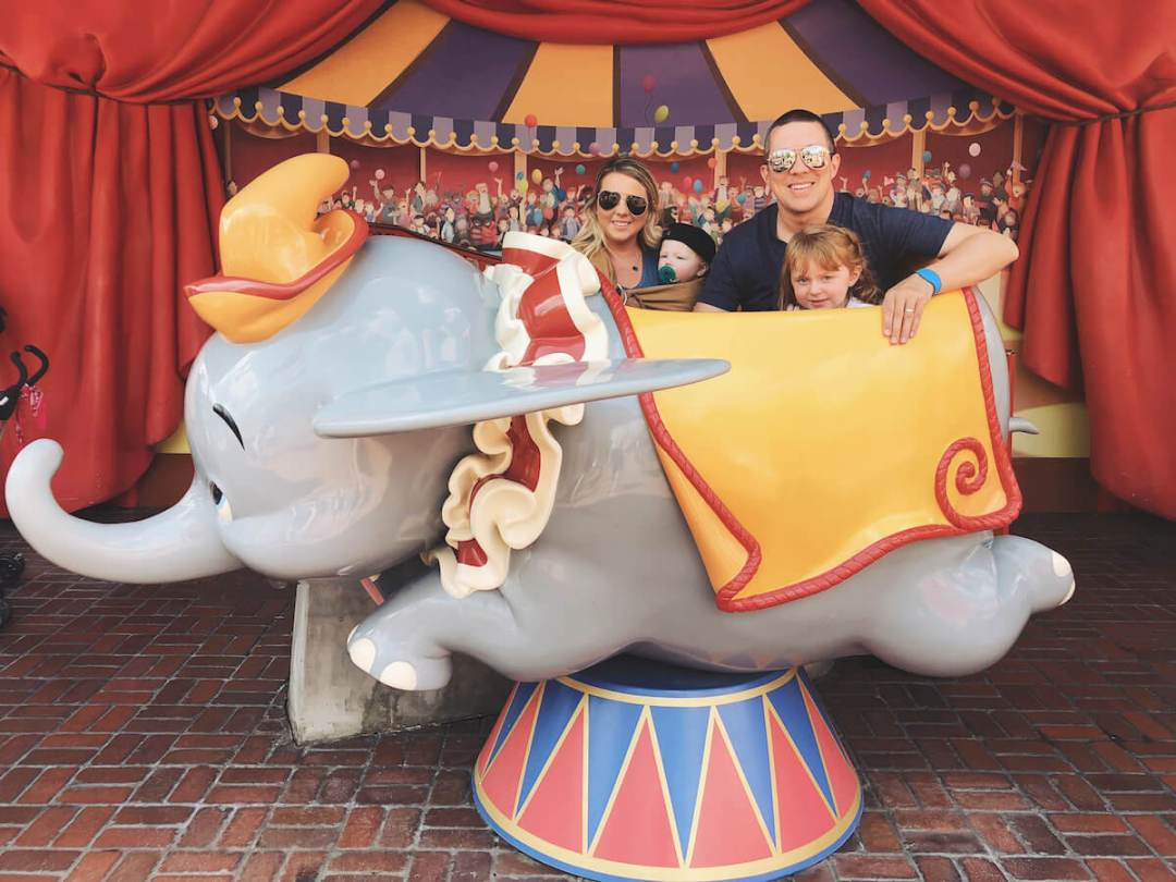 Dumbo the Flying Elephant Walt Disney World's Magic Kingdom