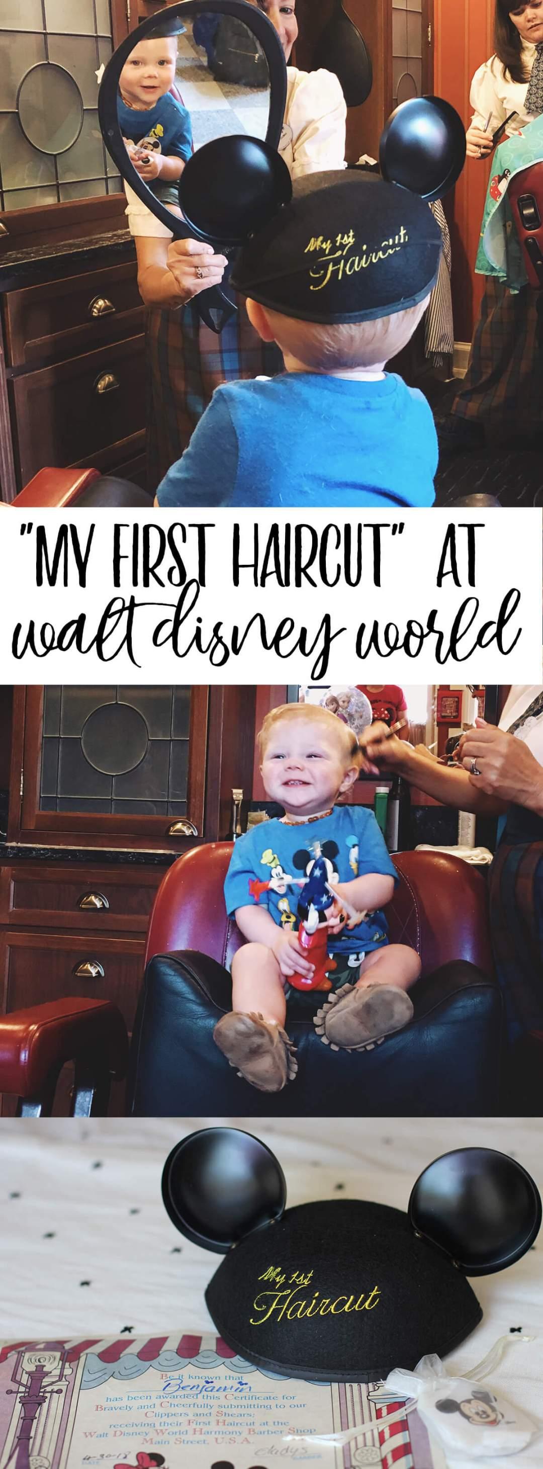 My First Haircut At Walt Disney Worlds Magic Kingdom Harmony