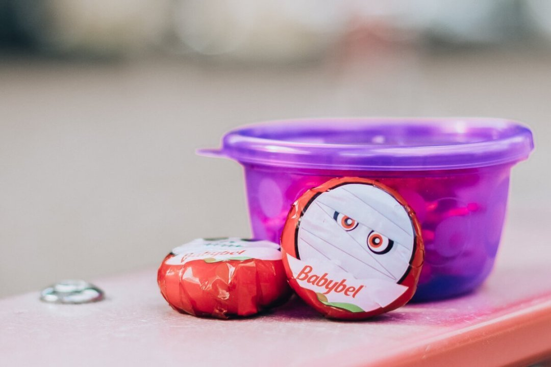 Babybel Cheese and Pretzels