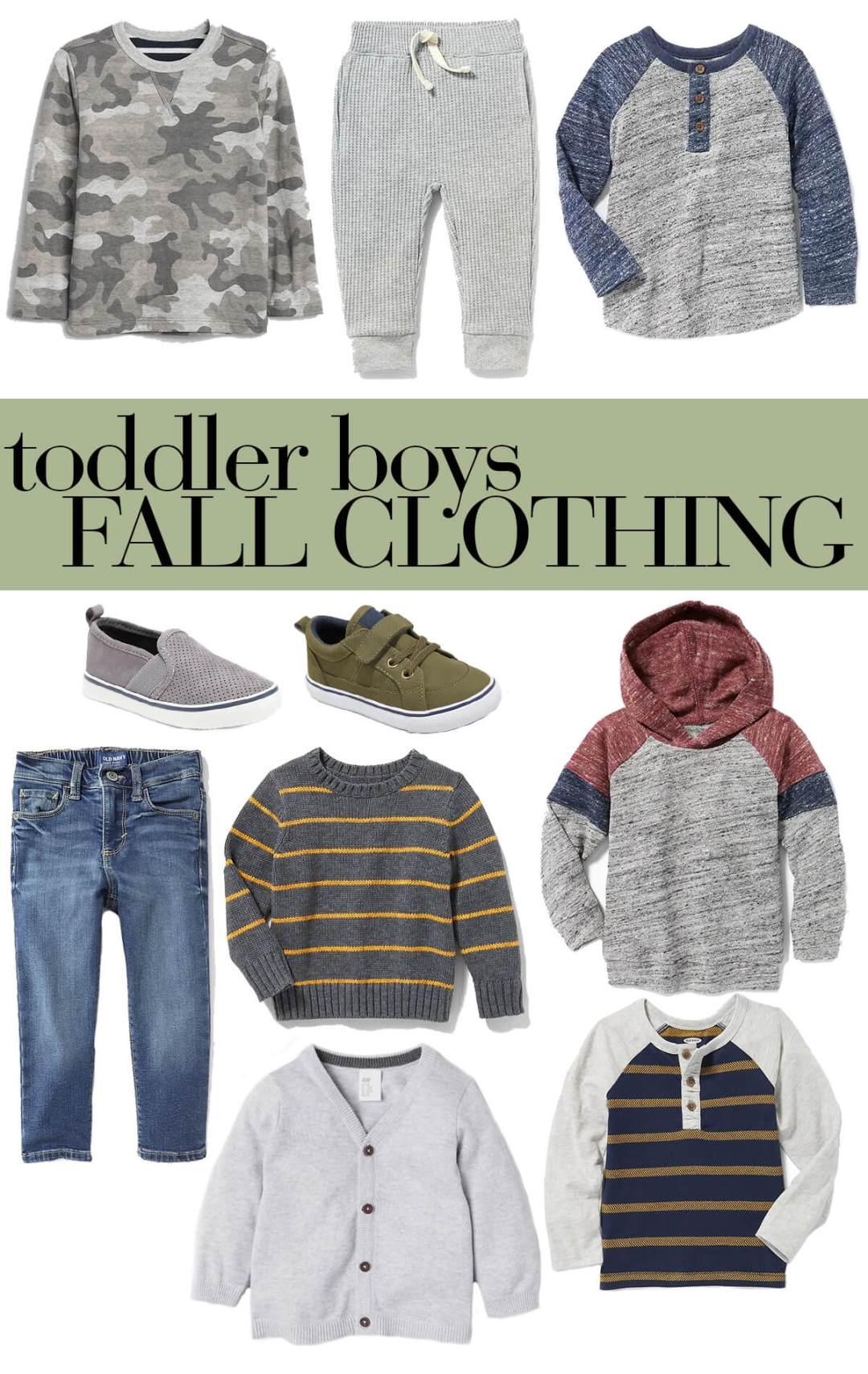 toddler boys fall clothing