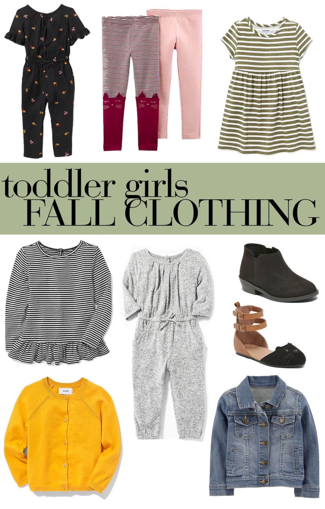 toddler girls fall clothing