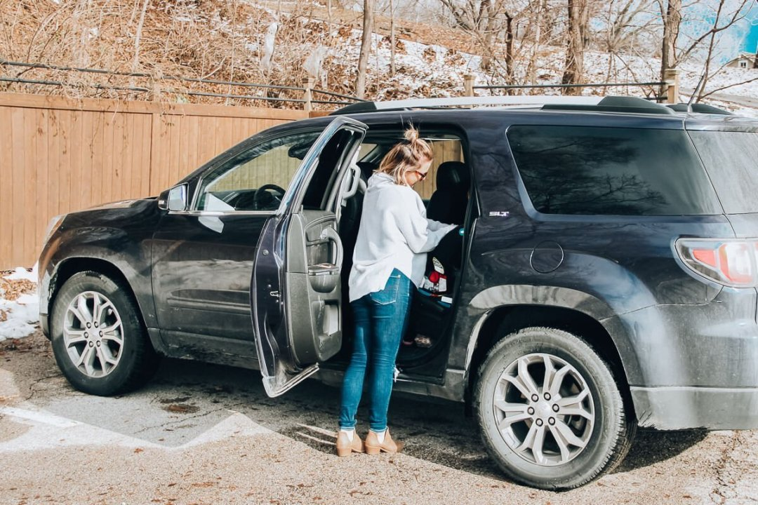2016 GMC Acadia for a family of 4