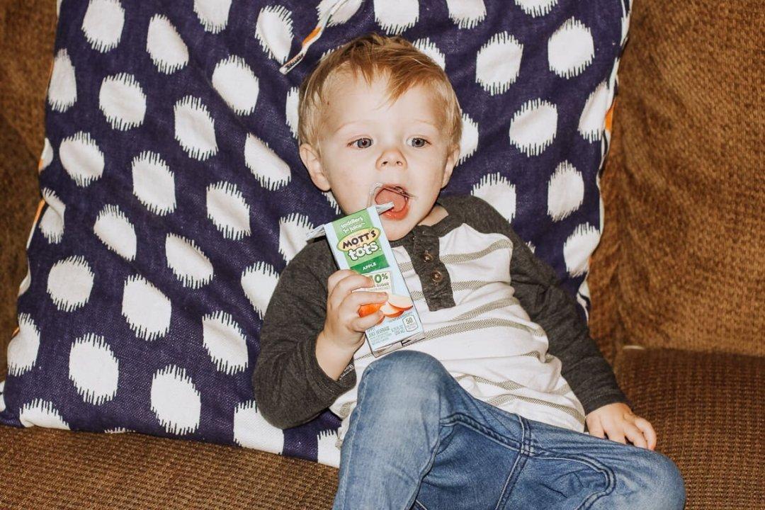 Ben and Mott's Apple Juice