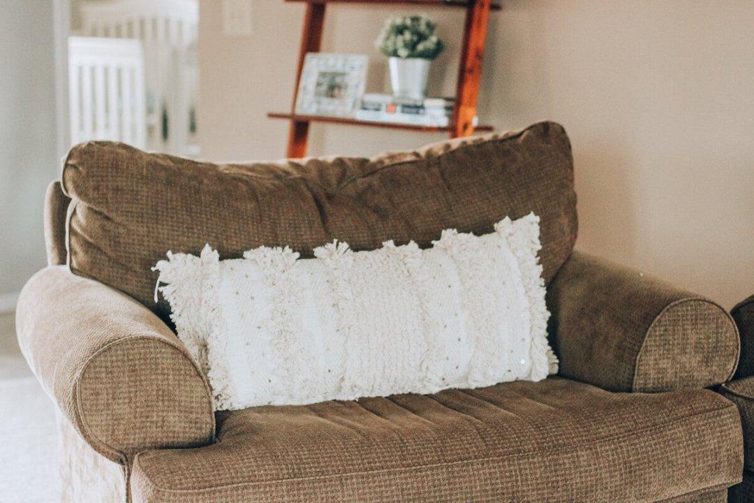 Black and White Minimalist Living Room