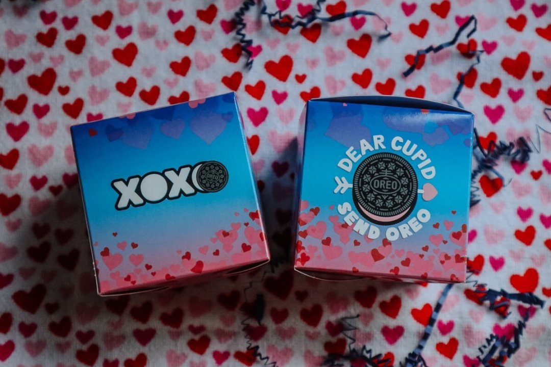 OREO Valentine's Day Exchange Kit