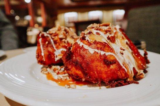 The Woodlands Restaurant at Eagle Ridge in Galena, IL - SINSINAWA MOUND SINNABLAST Dessert