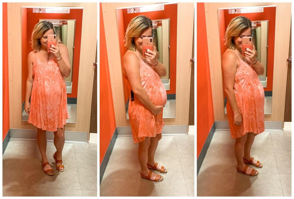Target Try On: Summer Dresses / Women's Strappy V-Neck Printed Babydoll Dress - Wild Fable™