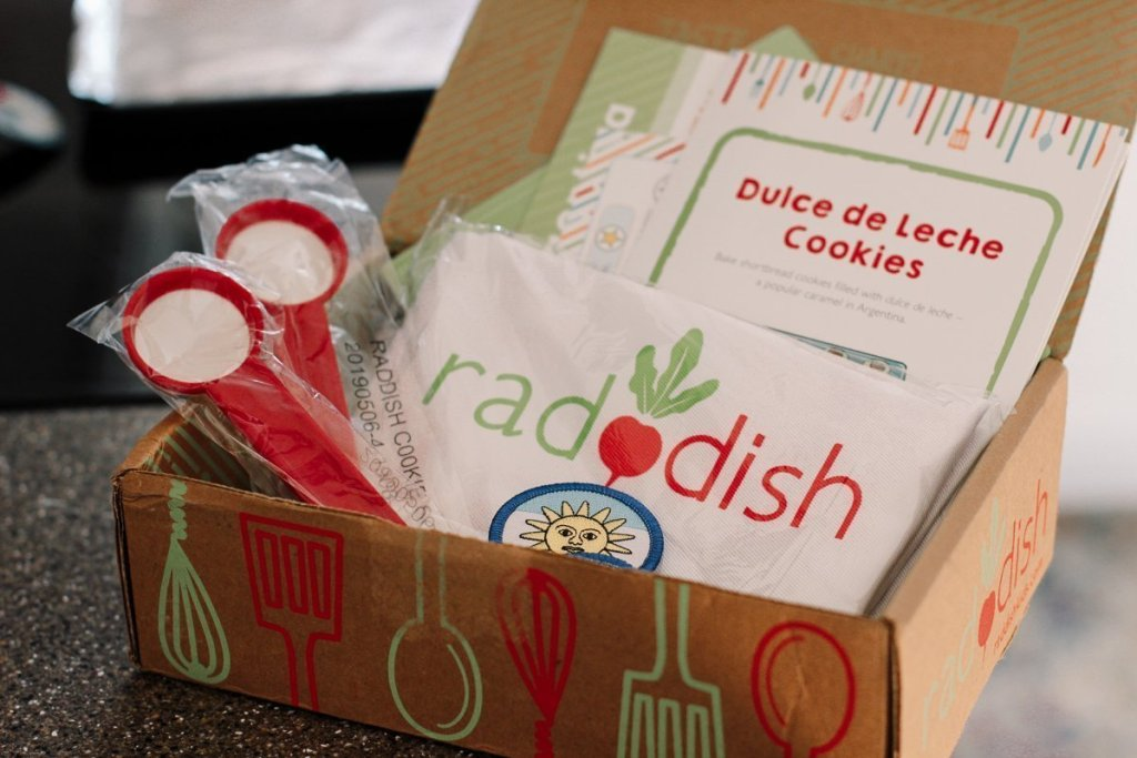 raddish cooking box for kids