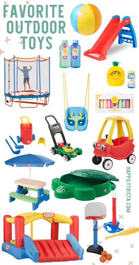 favorite outdoor toys