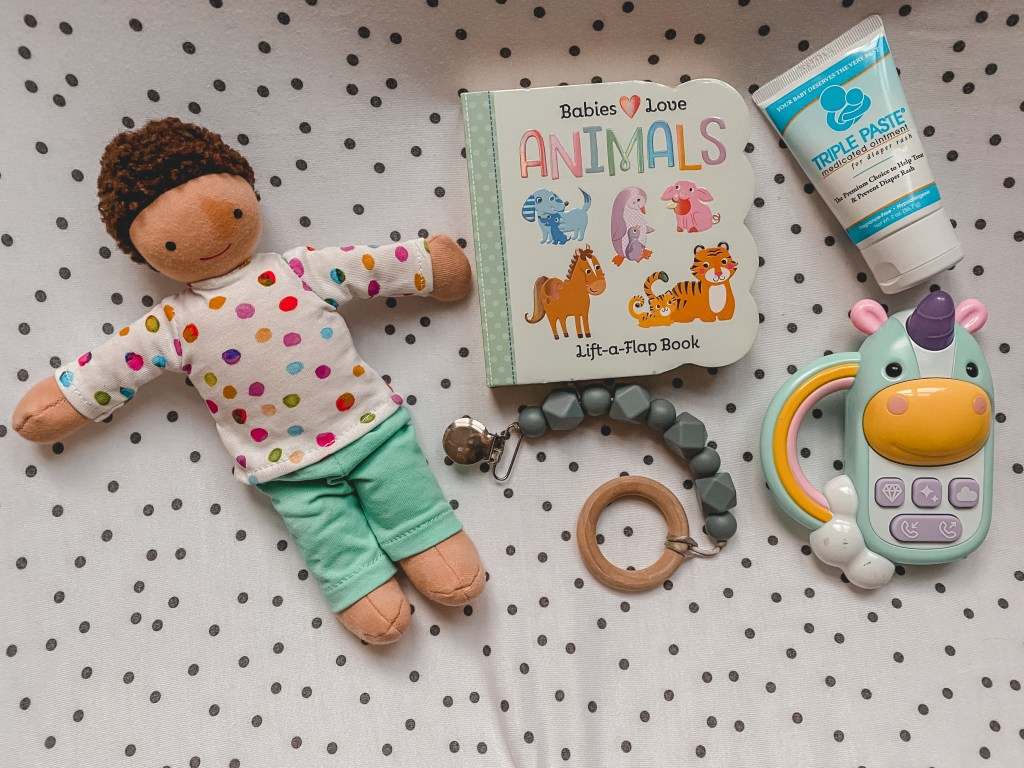 toys to keep a baby busy during diaper changes