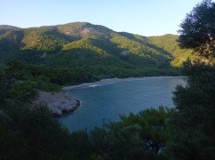 Plage isolée vers Datca