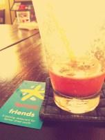 "Favorite ""Passion Fruit and Watermelon Shake"" - Friends Restuarant"