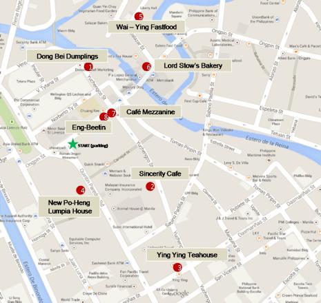 Binondo Food Map