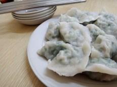 Pork Dumplings with Kuchay!