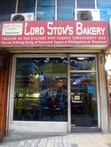 Outside of Egg Tart Heaven! Lol!