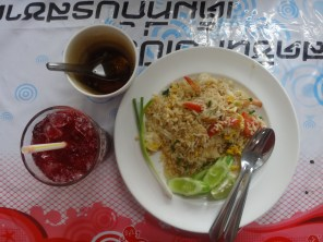 Thai Shrimp Fried Rice for 50 Baht!