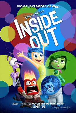 """""""Inside Out (2015 film) poster"""" by Source. Licensed under Fair use via Wikipedia"""